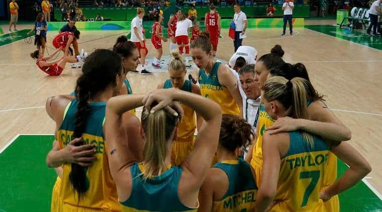 Basketball - Women's Quarterfinal Australia v Serbia