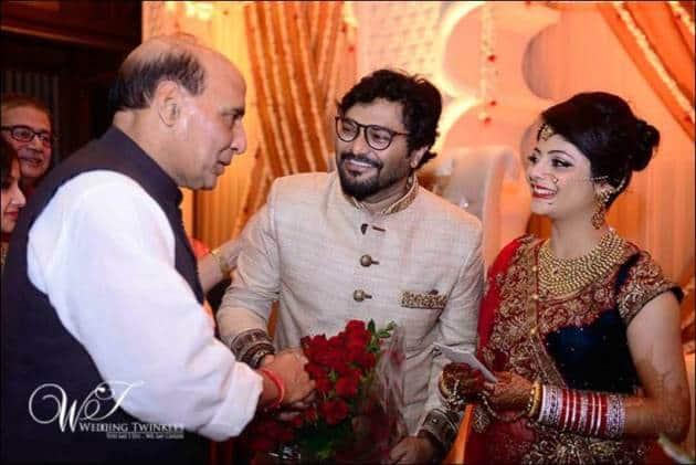 Babul Supriyo, Babul Supriyo wedding, Rajnath Singh, Babul Supriyo marriage, Babul Supriyo wedding pics, Babul Supriyo news, Babul Supriyo wife
