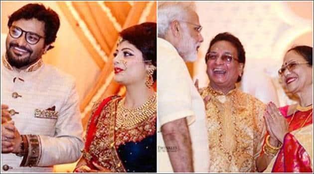 Babul Supriyo, Babul Supriyo wedding, Prime Minister Narendra Modi, modi bahul supriyo