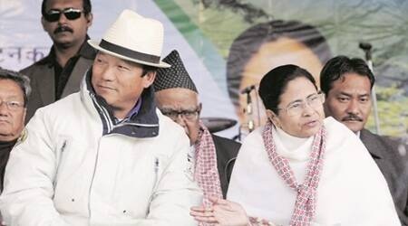The isolation of GJM president Bimal Gurung