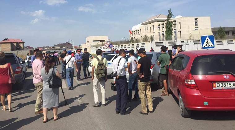 Kyrgyzstan, Kyrgyzstan blast, bishkek blast, Chinese embassy, china embassy, china embassy blast, news, Jenish Razakov, razakov china embassy, news, world news