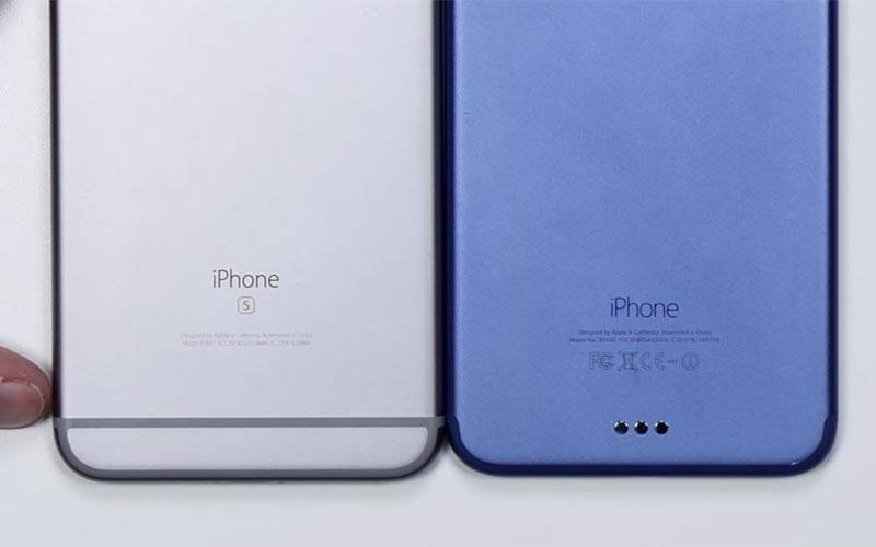 Apple, Apple iPhone 7 Plus, iPhone 7 Blue, iPhone 7 Blue colour, iPhone 7 video leak, iPhone 7 rumours, Apple iPhone 7 Plus revealed, Apple iPhone 7 Plus specifications, Apple iPhone 7 Plus price, technology, technology news