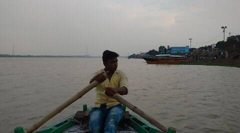 Postcard from Varanasi: Life of a boatman in the troubled monsoon waters