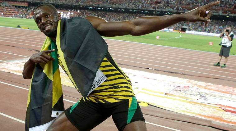 Usain Bolt tells parents he's ready to race on Sunday