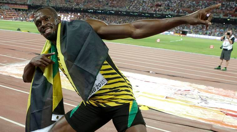 Usain Bolt makes the Olympic Stadium his stage, again