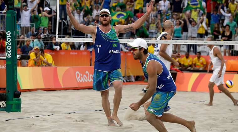 beach volleyball, beach volleyball olympics, rio beach volleyball olympics, olympics volleyball, brazil beach volleyball, sports