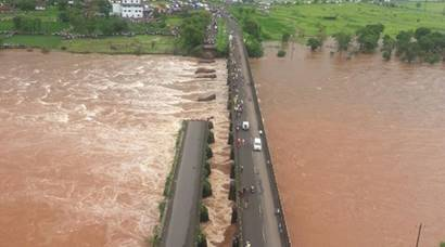 Mumbai-Goa highway bridge collapse: 2 buses missing, rescue operations underway