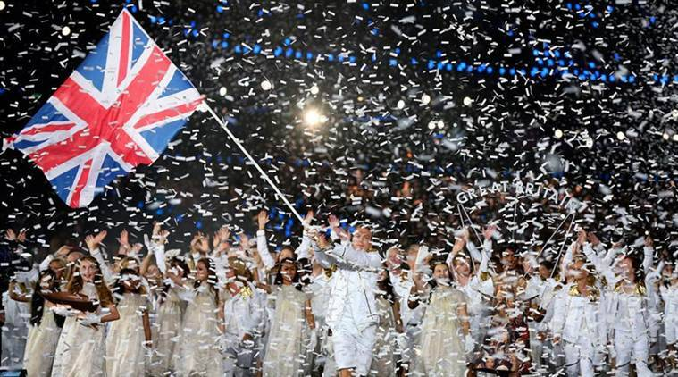 flag bearers of all nations in rio olympics opening ceremony 2016