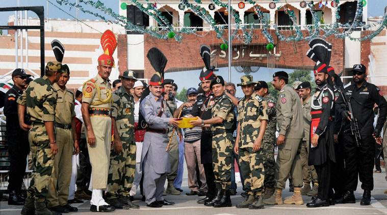 Attari-Wagah border, Attari-Wagah border Independence day, Attari Wagah Beating the retreat, BSF soldiers in Attari Wagah, India news, Independence Day,