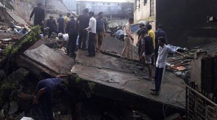 Family of six feared trapped in deadly India building collapse