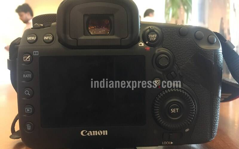 Canon EOS 5D Mark IV features a 3.2-inch touchscreen display with approximately 1.62 million dots (Source: Swapnil Mathur)