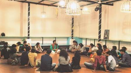 Theatre practitioner takes up initiative to reach out to people through storytelling in contemporaryform