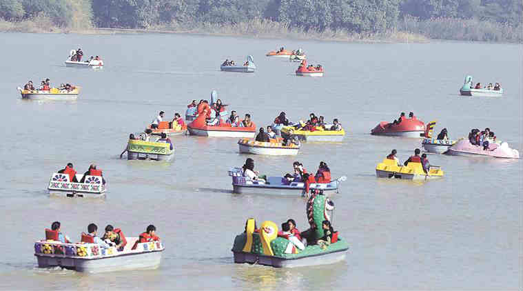 sukhna lake, sukhna lake hearing, punjab and haryana high court, chandigarh adviser, parimal rai, sarvjit singh, restroration of sukhna lake,  chandigarh news, indian express news, india news