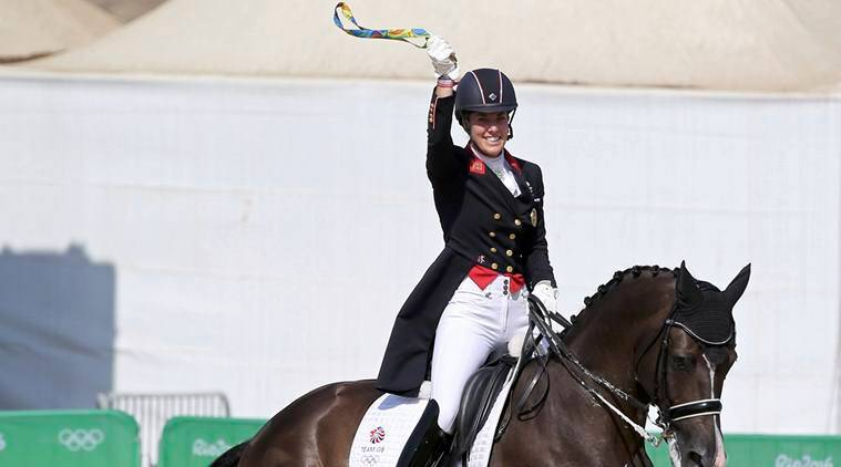 Dressage final ends with golden proposal for Britain's Charlotte Dujardin