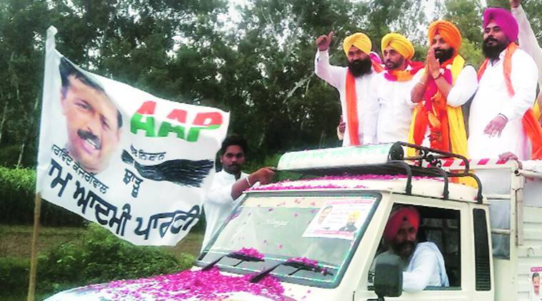 Aam Aadmi Party, AAP, Chhotepur, AAP Ludhiana, Sahnewal constituency, Harjot Singh Bains, Harjot Singh Bains aap, Sucha Singh, Arvind Kejriwal, Amarjit Singh, latest news, latest india news, Divya Goyal