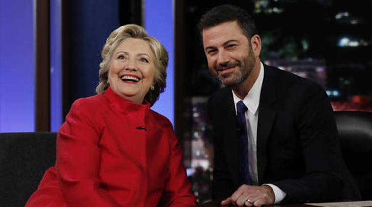 Hillary clinton, clinton, US, US election, US elections, democrat Hillar Clinton, democratic, Jimmy Kimmel live, US election campaign, US election 2016, US election news, US news, international news, world news