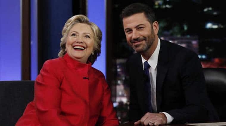 Hillary clinton, clinton, US, US election, US elections, democrat Hillar Clinton, democratic, Jimmy Kimmel live, US election campaign, US election 2016, US election news, US news, international news, world news