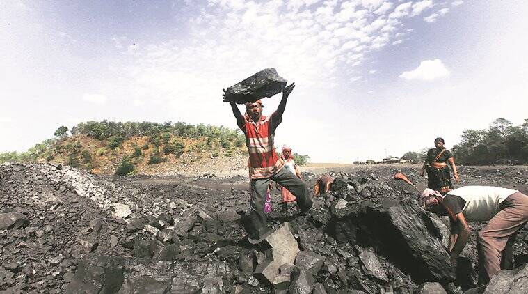 coal, coal auction, coal e-auction, coal e auction, coal india, coal india limited, cil stratergy, coal mining, coal output, coal mining output, growth in coal output, road projects, construction of road, house construction, urban development, cement output, indian express news, indian express building india