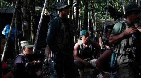 drugs, colombia, colombia farc, farc, farc quit jungle, colombia communist rebellion, revolutionary Armed Forces of Colombia, farc treaty, colombia treaty, colombia farc treaty, colombia farc peace treaty, end conflict, farc end arm conflict, colombia drugs, US capitalism, indian express editorial