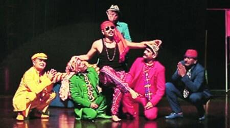 mumbai, mumbai play, comedy play, corruption comedy, play on corruption, comedy play on corruption, amitosh nagpal, corruption humour, indian express talk