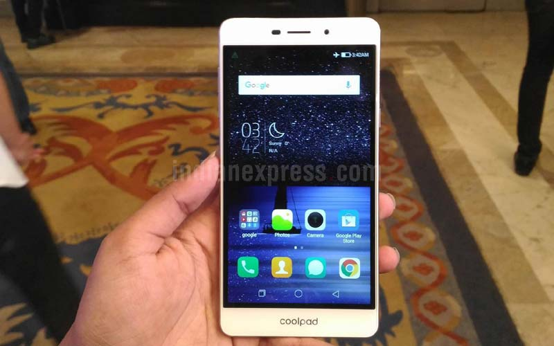 Coolpad launches Mega 2.5D selfie smartphone for Rs 6999