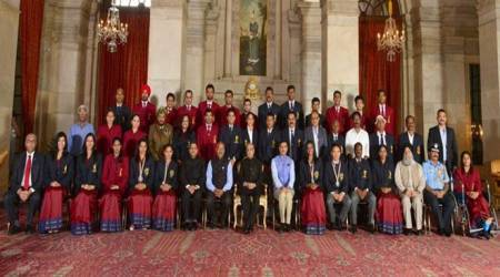 PV Sindhu, Sakshi Malik, Dipa Karmakar, Jitu Rai honoured with Khel Ratna Award