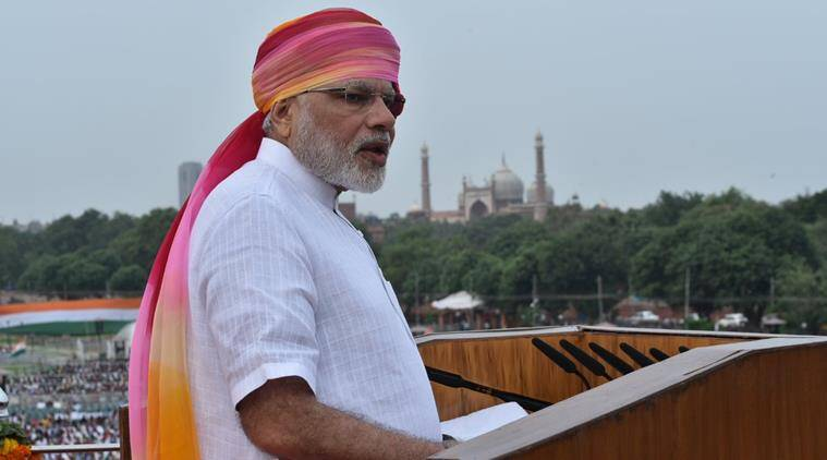 PM Narendra Modi invoked Nations Achievement by his speech