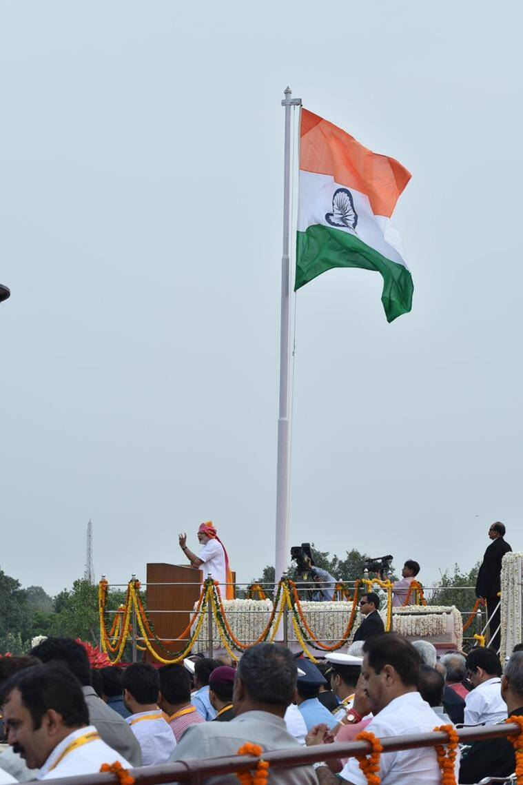 This is Prime Minister Narendra Modi's third Independence Day address. Image: PIB