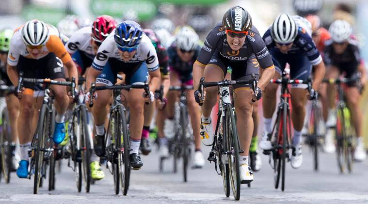 USA riding wave of power for women's road race cycling at