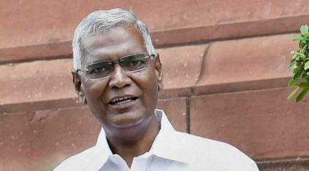 Left parties not to attend midnight meeting on GST: D Raja