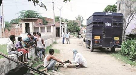 dadri clash, clash in dadri, accident, women accident, dadri accident, kalonda village accident, indian express news, delhi, delhi news