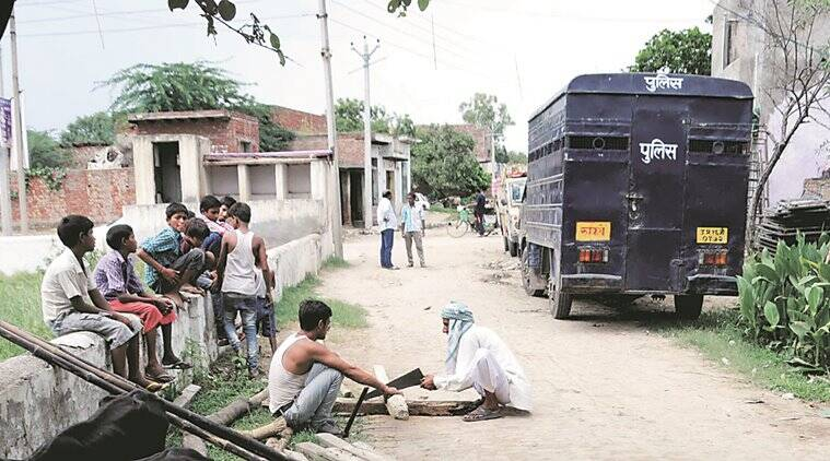 dadri clash, clash in dadri, accident, women accident, dadri accident, kalonda village accident, indian express news, delhi, delhi news