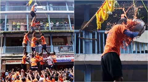 Mumbai Dahi Handi celebrations: Some defy apex court order, others wave black flags in protest