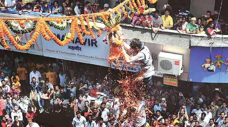 dahi handi restrictions, shiv sena dahi handi celebration, shiv sena dahi handi ordinance, maharashtra dahi handi festival, bal govinda supreme court, mumbai dahi handi festival, shiv sena on dahi handi restrictions, india news, mumbai news, maharashtra news
