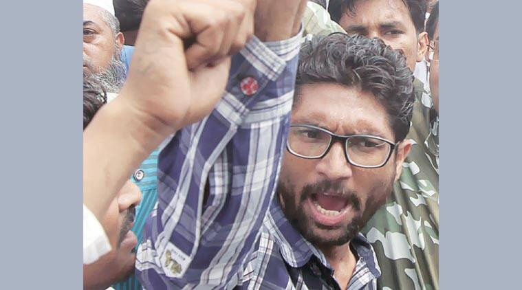 Gujarat Dalit agitation, Jignesh Mevani, dalits, dalit coversions, incident in una, una incident, gujarat freedom of religion act, thrashing of dalits in una, gujarat news, india news, latest news