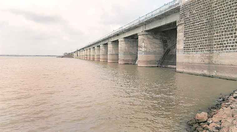 ground water level, reservoir water level, water ministry reservoir survey, nagarjuna sagar, india news, indian express