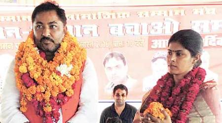 BJP sacked Dayashankar Singh for Mayawati remark, his wife now takes BSP head-on