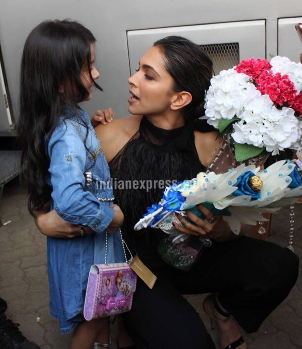 This little girl could be Deepika Padukone from her childhood
