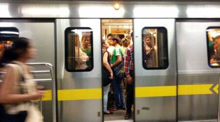 Delhi Metro briefly runs with one gate open