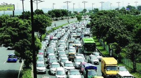 motor vehicles amendment bill, motor vehicle bill, what is motor vehicle bill, parliament, lok sabha, central government, driving license, learner license, indian express