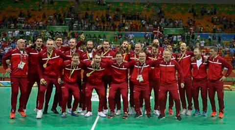 Denmark beat France to win first gold in handball