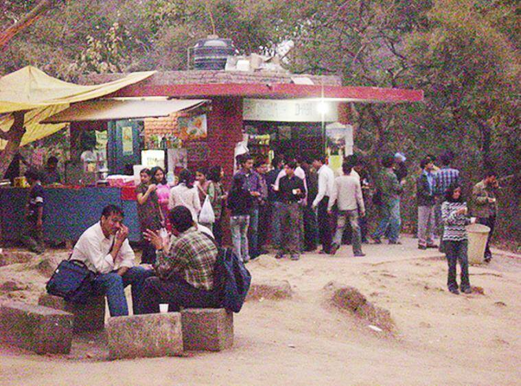Deemed as the place where revolutions are sown, Ganga Dhaba has become an integral part of JNU. (Source: Flickr/Jal Pandya)