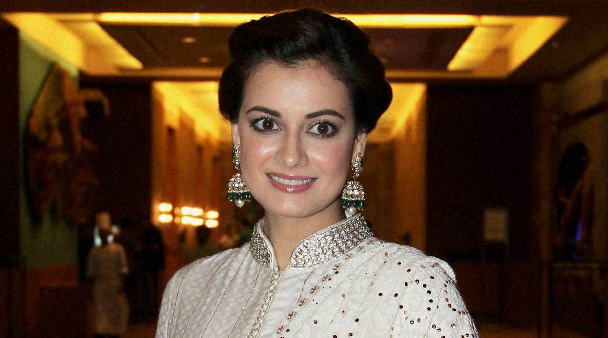 Dia Mirza at a charity event