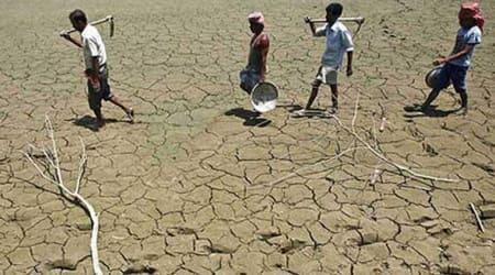 Maharashtra news, Maharashtra drought, water scarcity in Maharashtra, kharif sowing affected in Maharashtra, lack of rainfall in Vidarbha, Mumbai rains, Indian Express news
