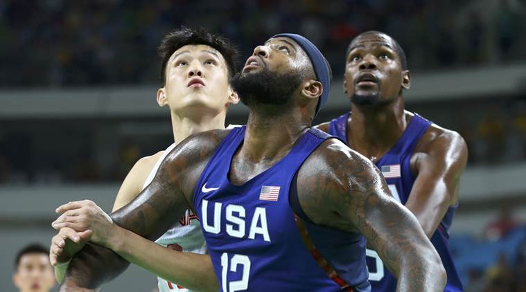 Kevin Durant, Durant, Carmelo Anthony, US basketball, USA olympics basketball, USA olympics, olympics basketball, USA China basketball, rio 2016 olympics, olympics, olympics news