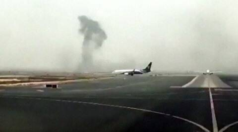 After Emirates  plane crash lands, airlines cancel flights to Dubai from India - The Indian Express