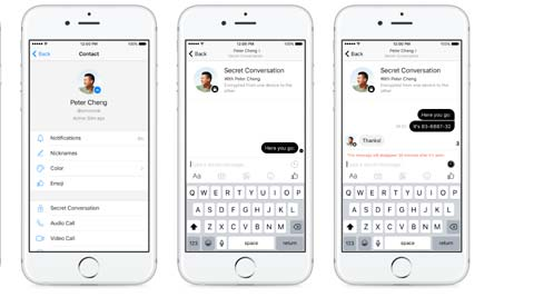 Facebook Messenger Starts Rolling Out Secret