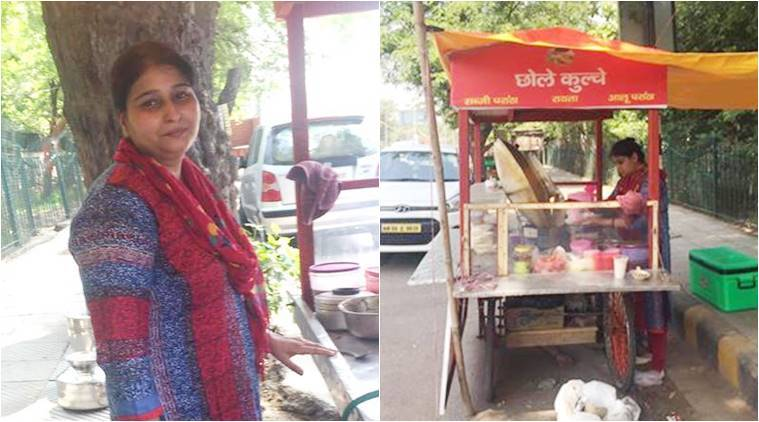 gurgaon woman starts thela for family, gurugram woman starts thela for family, urvashi yadav, vagabomb, gurgon sector 14 market, inspirational stories, Soul-stirrings by Sunali