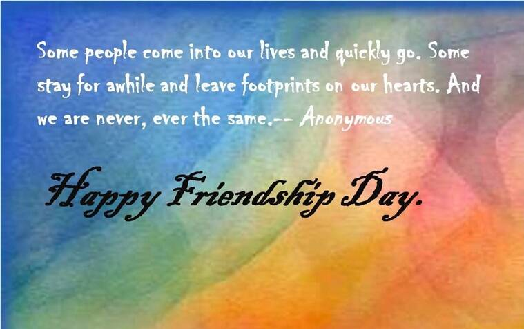 Wish your friends a Happy Friendship Day with this photo wish. (Source: allindiaroundup.com)