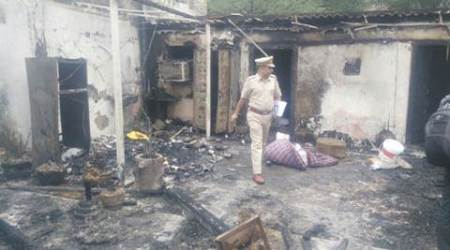 Hauz Khas village fire: The house occupant was friendly, stayed here only for a few days every month, say neighbours